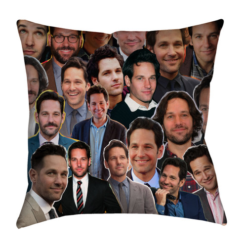 Paul Rudd Photo Collage Pillowcase