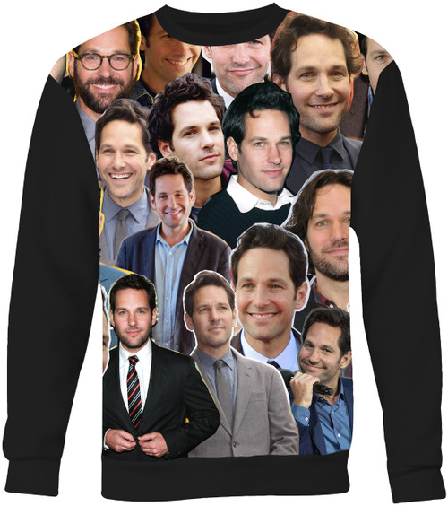 Paul Rudd Collage Sweater Sweatshirt