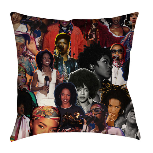 Lauryn Hill Photo Collage Pillowcase