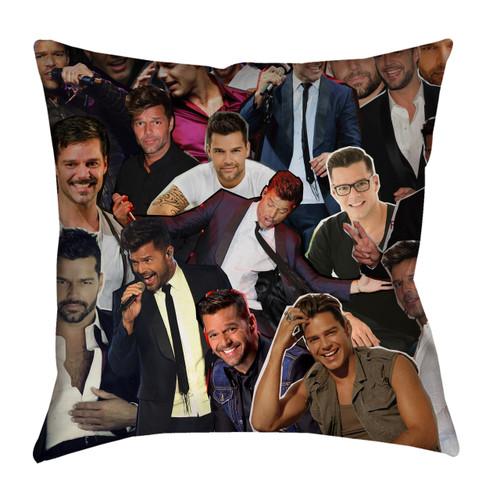 Ricky Martin Photo Collage Pillowcase