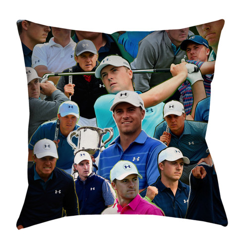 Jordan Spieth Photo Collage Pillowcase
