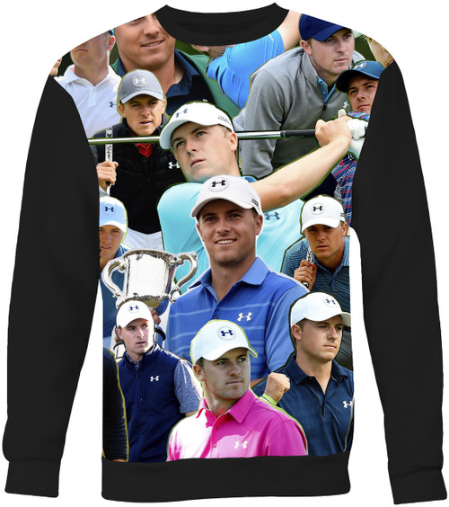 Jordan Spieth Collage Sweater Sweatshirt