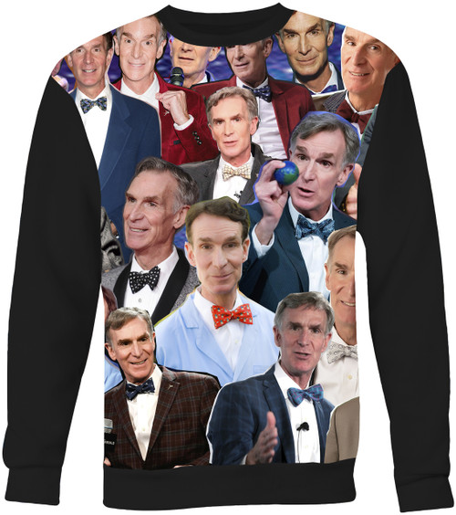 Bill Nye The Science Guy Collage Sweater Sweatshirt
