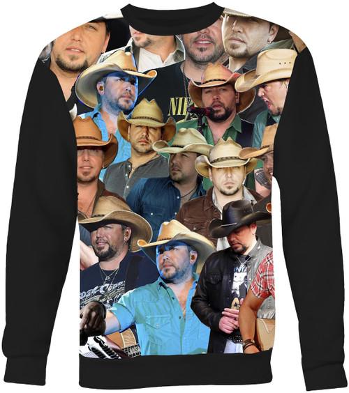 Jason Aldean Collage Sweater Sweatshirt