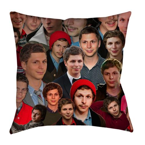 Michael Cera Photo Collage Pillowcase