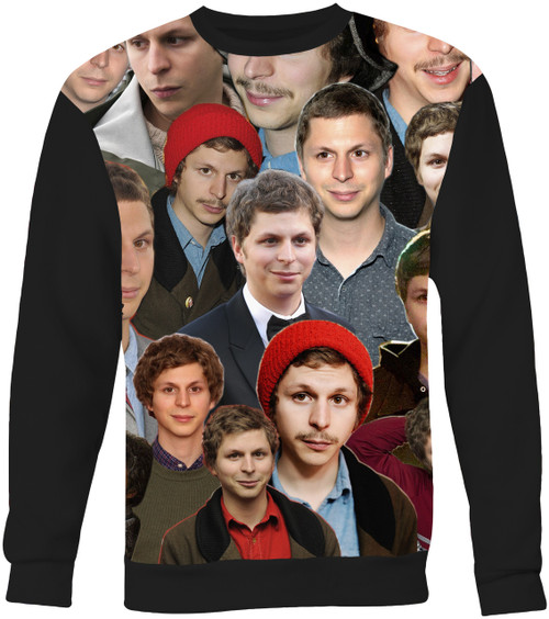 Michael Cera Collage Sweater Sweatshirt