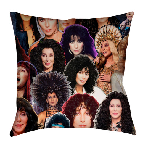Cher Phone collage Pillowcase