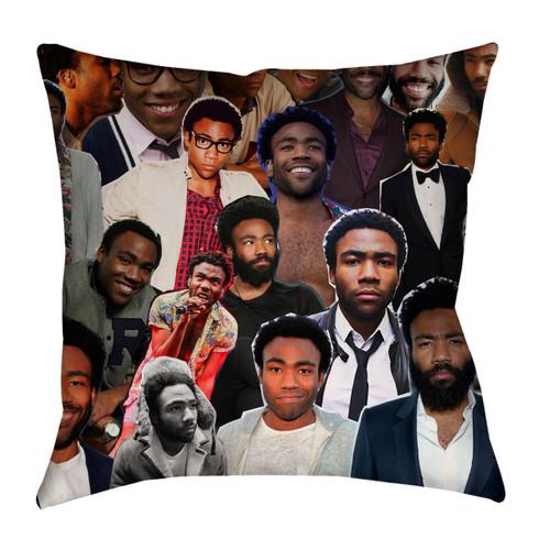 Donald Glover Childish Gambino Photo Collage Pillowcase