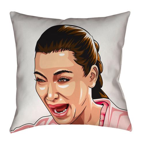 Kim Kardashian Crying Pillowcase