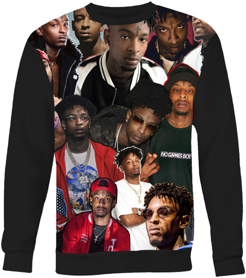 21 Savage Collage Sweater Sweatshirt