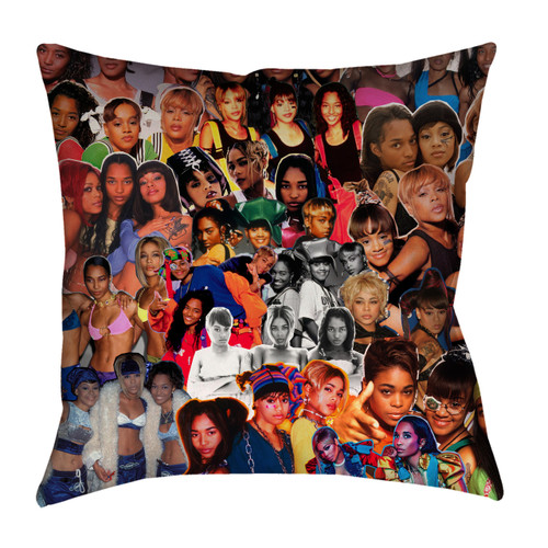 TLC Photo Collage Pillowcase