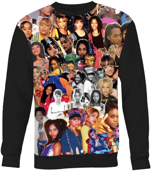 TLC Collage Sweater Sweatshirt