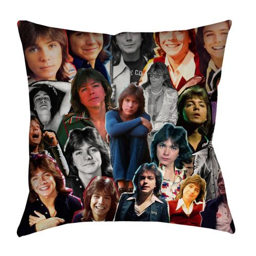 David Cassidy Photo Collage Pillowcase