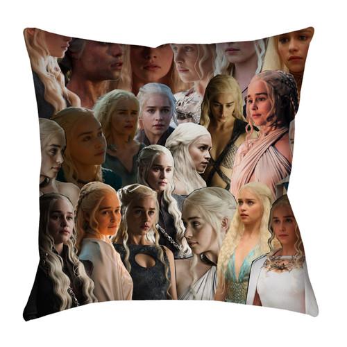 Daenerys Targaryen (Game of Thrones) Photo Collage Pillowcase
