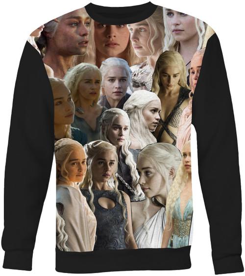 Daenerys Targaryen (Game of Thrones) Collage Sweater Sweatshirt