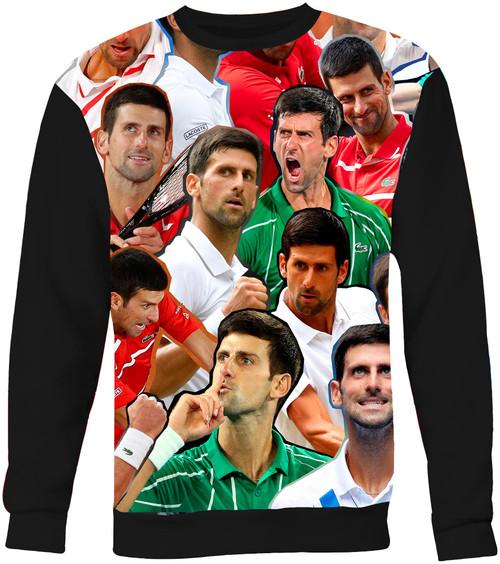 Novak Djokovic Collage Sweater Sweatshirt