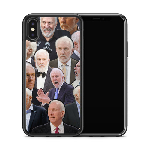 Gregg Popovich phone case x