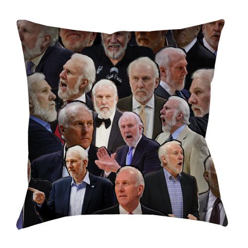 Gregg Popovich pillowcase