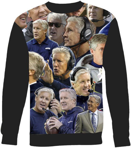Pete Carroll Collage Sweater Sweatshirt