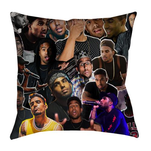 Futuristic pillowcase