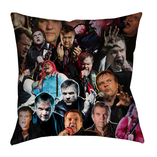 Meat Loaf pillowcase