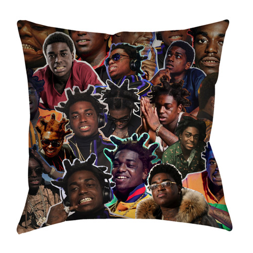 Kodak Black pillowcase