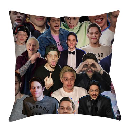 Pete Davidson Photo Collage Pillowcase