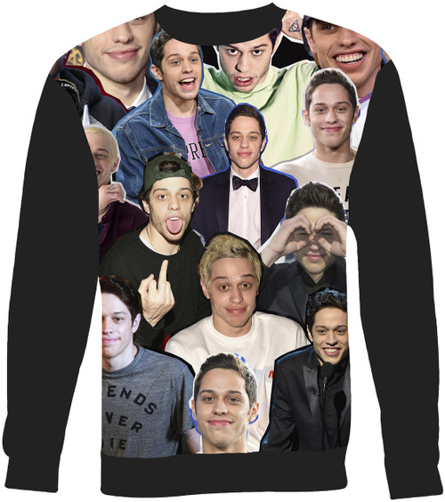 Pete Davidson Collage Sweater Sweatshirt