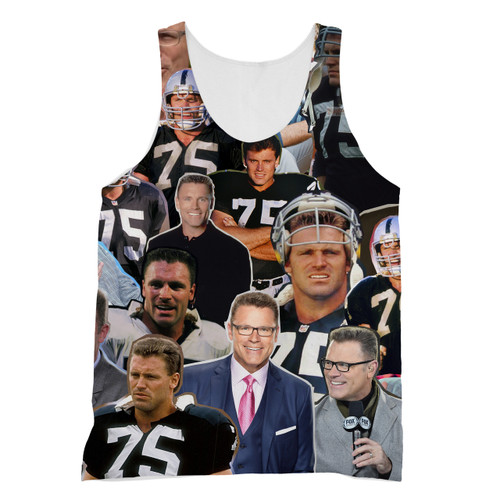 Howie Long Photo Collage T-Shirt - Subliworks 0b2131806