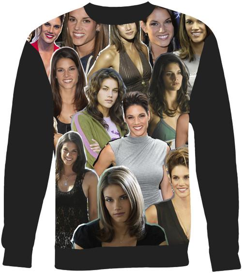 Missy Peregrym sweatshirt