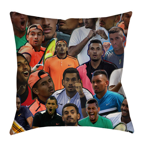 Nick Kyrgios pillowcase