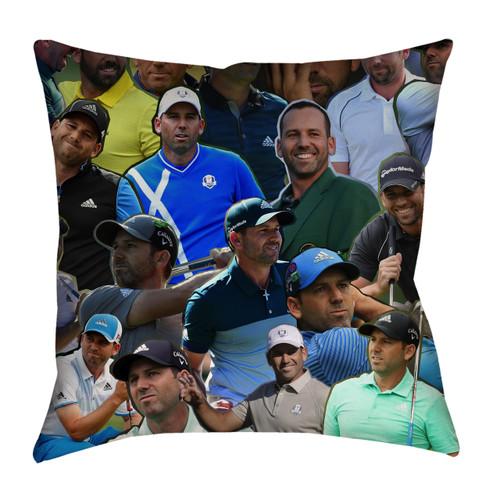 Sergio Garcia pillowcase