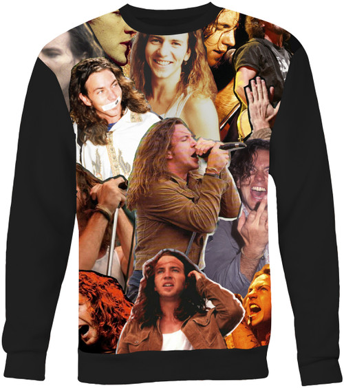 Eddie Vedder Collage Sweater Sweatshirt