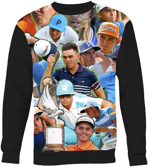 Rickie Fowler Collage Sweater Sweatshirt