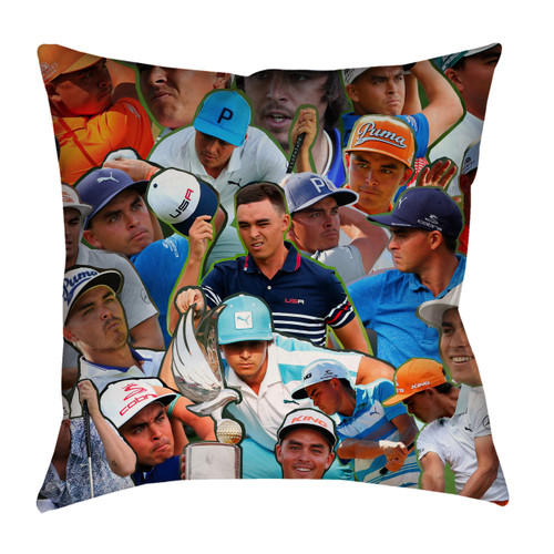 Rickie Fowler Photo Collage Pillowcase