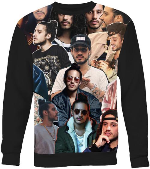 Russ Collage Sweater Sweatshirt