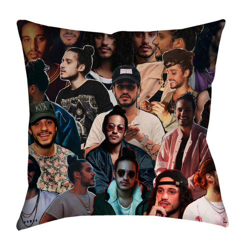 Russ Photo Collage Pillowcase