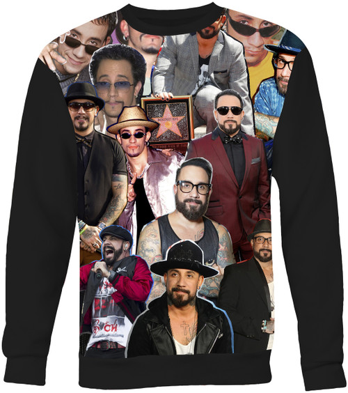 AJ Mclean Backstreet Boys Collage Sweater Sweatshirt