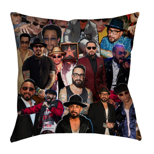 AJ Mclean Backstreet Boys Photo Collage Pillowcase