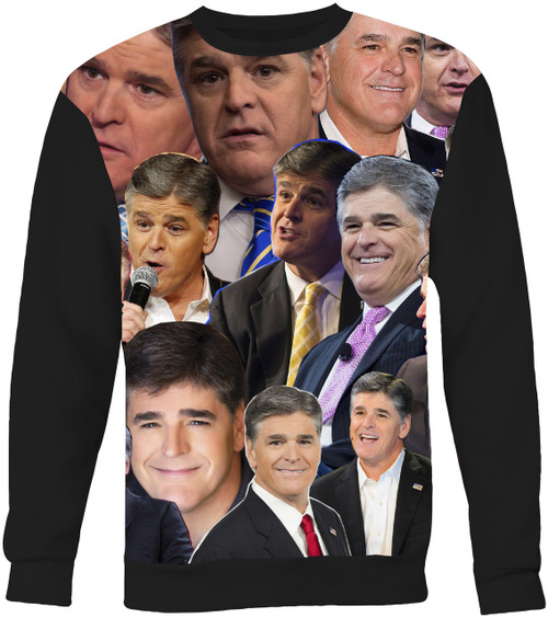 Sean Hannity Collage Sweater Sweatshirt