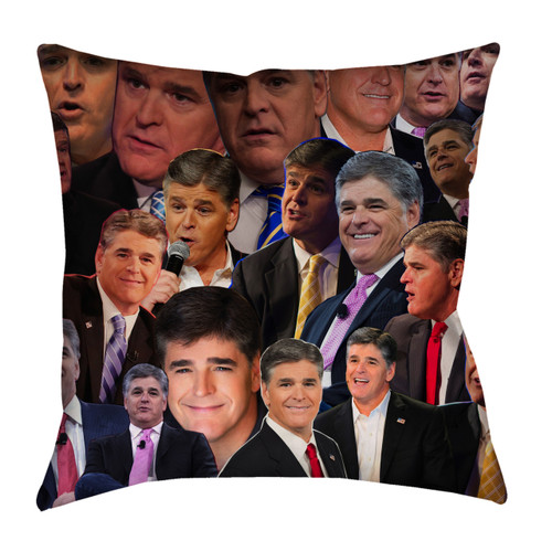 Sean Hannity Photo Collage Pillowcase