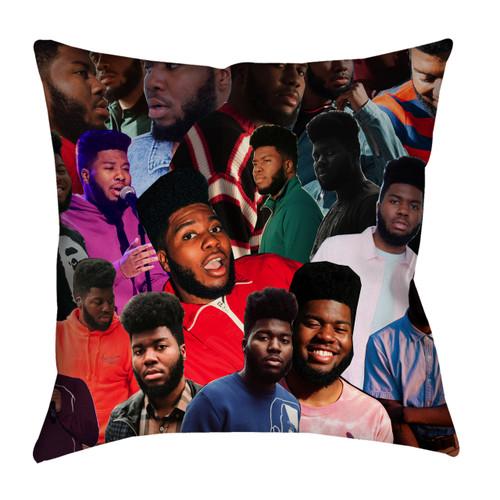 Khalid Photo Collage Pillowcase