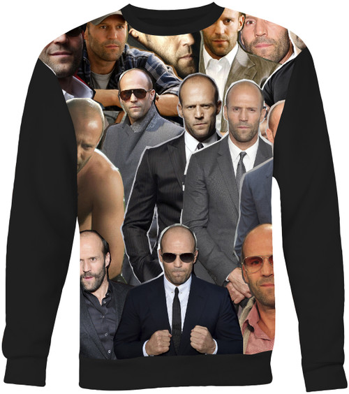Jason Statham Collage Sweater Sweatshirt