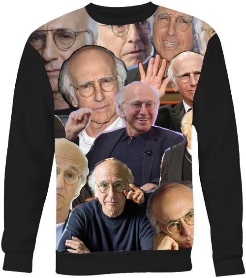 Larry David Collage Sweater Sweatshirt