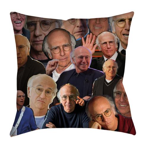 Larry David Photo Collage Pillowcase