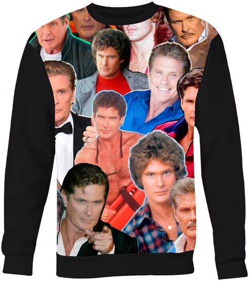 David Hasselhoff Collage sweatshirt
