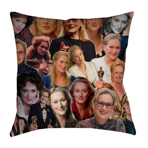 Meryl Streep Photo Collage Pillowcase
