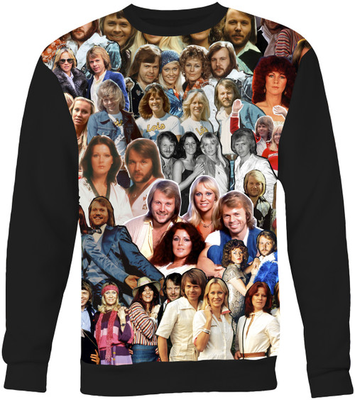 ABBA Collage Sweater Sweatshirt