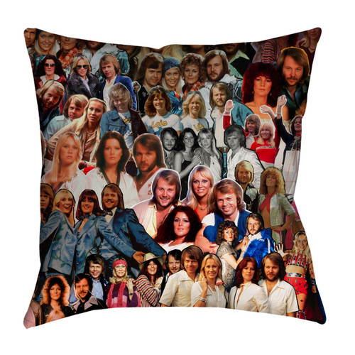 ABBA Photo Collage Pillowcase