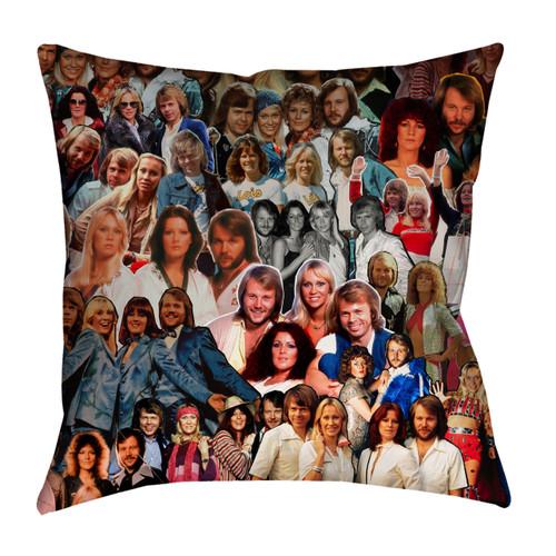 ABBA Photo Collage Pillowcase